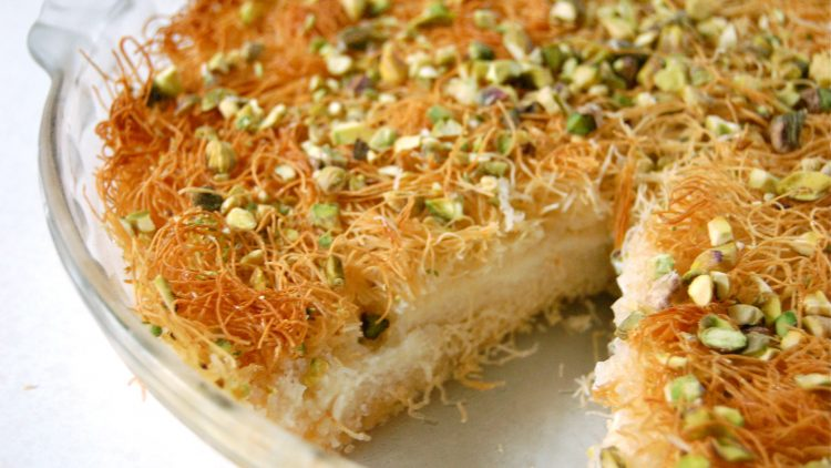 Ramadan Diaries: Best Ever Kunafa with Ricotta and Cream Filling